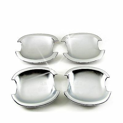 Accessories Chrome Door Handle Base Bowl Covers For 2001-2007 Toyota Highlander