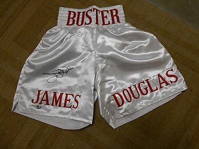 James Buster Douglas Autographed Boxing Shorts With Hologram