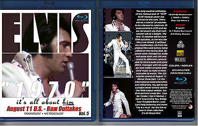 Elvis Presley 1970 - It's All About Him - Vol. 5 - New Blu-Ray Sealed!
