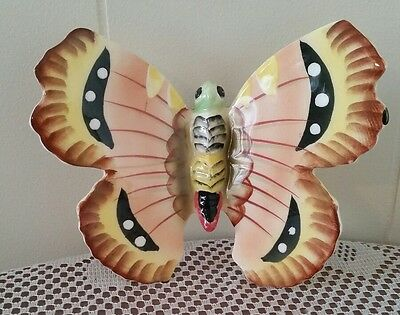 Vintage Butterfly Wall Ornament