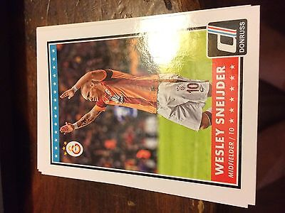 100 Card Lot of 2015 Donruss Base Card #36 Wesley Sneijder Galatasaray