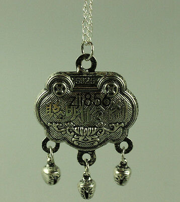 Collection decorations Miao silver happy pendant