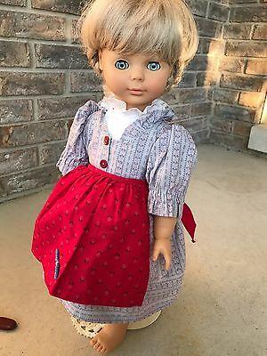 "Engel-Puppen West German 19"" doll with extra clothes"