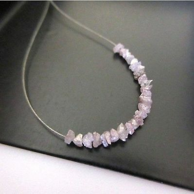 1.00CTW Tiny 1mm To 2mm Pink Raw Rough Uncut Diamonds, Uncut Diamond Beads Loose