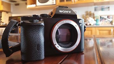 Sony A7 Camera Body (Body + Batteries Only) (Good Condition) (Low Shutter Count)