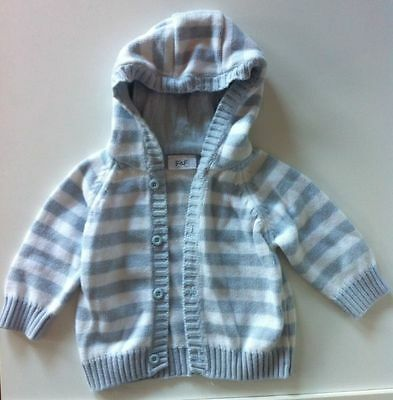 Baby jacket jumper cardigan knit- AS NEW