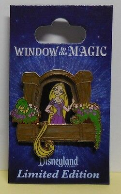 Disney Pin DLR Window to the Magic Rapunzel LE1000