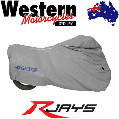 RJAYS Fleece Lined Waterproof Motorcycle Cover BC4 Large
