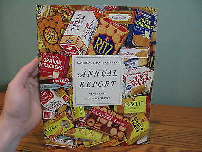 Rare 1949 Nabisco National Biscuit Company Year End Annual Report Magazine