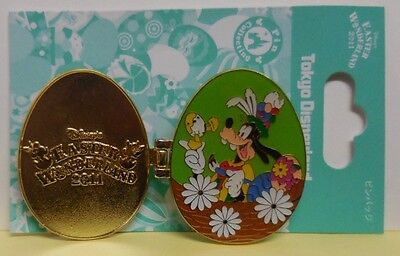 Disney Pin TDL Easter Wonderland 2011 Goofy Pin