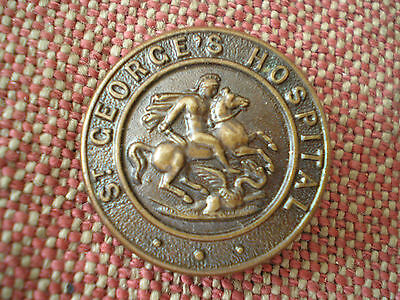 WW1 British St. George's Hospital Nursing Sisters Brooch Badge by Gaunt London