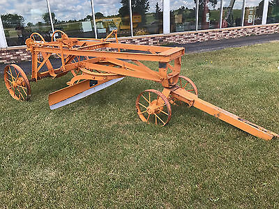 Stockland Road Grader, Pull Grader, Antique, Made In Minneapolis, Small Size
