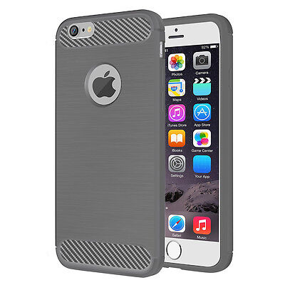 """Hybrid Shockproof Hard&Soft Rugged Rubber Cover Case For Apple iPhone 6 6s 4.7"""""""