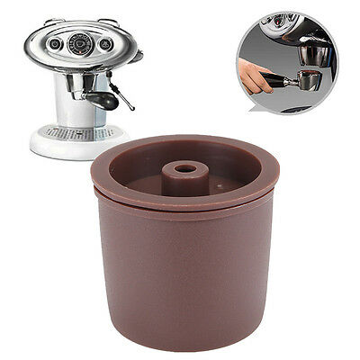 Refillable Coffee Filter Permanent Reusable Filling Capsule For Illy Coffeemaker
