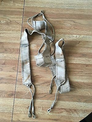 Extremely Rare Vintage 1920s Shirley President Suspenders