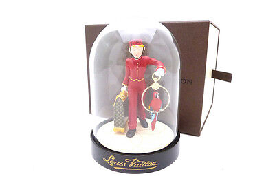 Louis Vuitton Novelty Snow Globe Dome VIP PAGE BOY 2012 limited Exellent