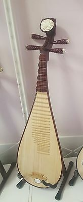 Authentic Brand New Chinese Lute Pipa Guitar- dispatched AU - special free deliv
