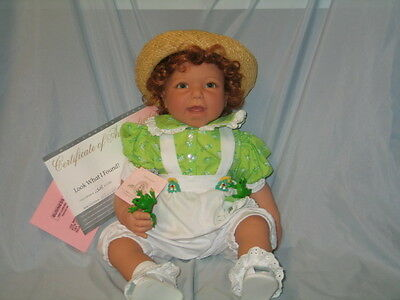 """Beautiful All Original Reva Schick Lee Middleton """"look What I Found"""" Doll Never"""