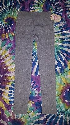 Faded Glory-- Girls Fashion Cable Leggings, Size M (7-10)