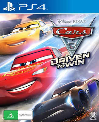 Cars 3 Driven to Win PS4 BRAND NEW SEALED