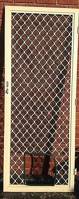 Wire Screen Security Door