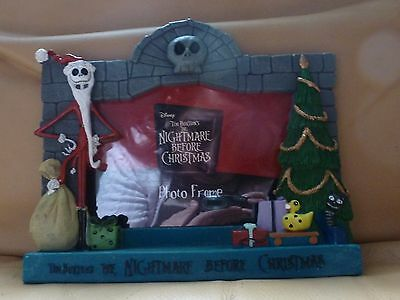 Nightmare Before Christmas Jack Skellington Photo Picture Frame
