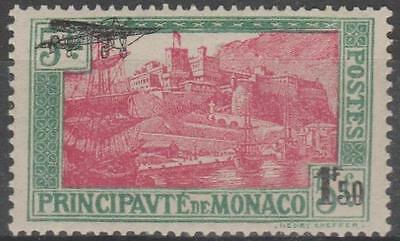 MONACO - 1933 Airmail - plane. Scott C1. Mint