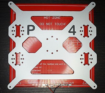 Prusa i3 Aluminium composit Heated Bed Support, Y carriage Plate