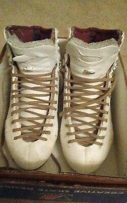 Riedell figure skates custom made 7.5 eee/a heel or street shoe 9 wide