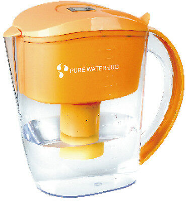 Alkaline Ionizer Filtered Water Jug plus 4 replacement filters. Optimal pH