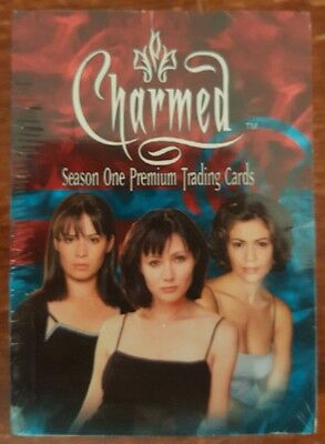 Charmed Season One complete trading card set 72 cards