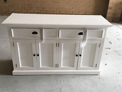 White Timber Hamptons Style Buffet/sideboard
