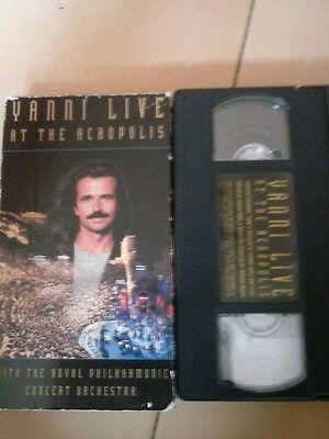 "Vhs ""Yanni Live at the acropolis"""