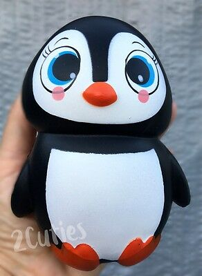 """Jumbo 5"""" Penguin SQUISHY, Scented, Soft Slow Rising, US SELLER, SUPER FAST SHIP"""