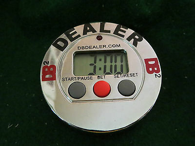 Two (2) Dealer Buttons, Limited Edition (version1)  DB2 clock Programable timer