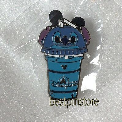 Hong Kong Disney pin - HKDL 2017 Ice Drink Hidden Mickey - Stitch RARE