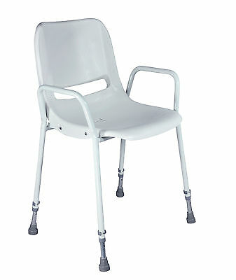 Aidapt Milton Stackable, Adjustable, Portable Shower Chair VB499S