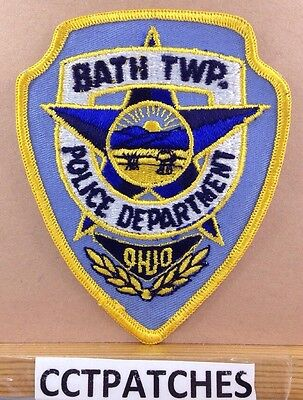 Bath Township, Ohio Police Shoulder Patch Oh