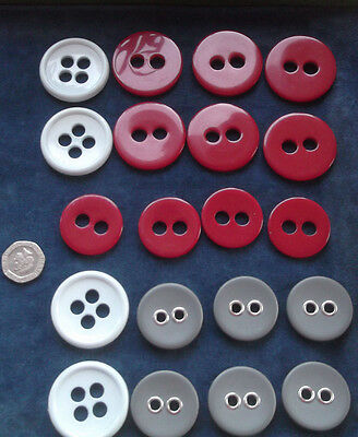 Sets Of Large Modern Buttons