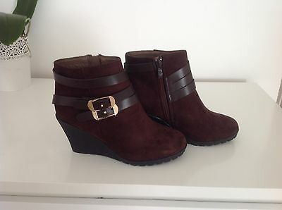 Brown Ankle Boots Size 4 New
