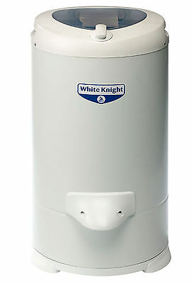 WHITE KNIGHT 28009W Spin Dryer – White 8lb load 4.1KG