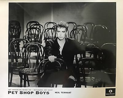 Pet Shop Boys Original Promo Photo