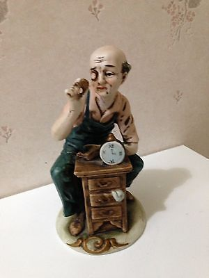 Collectible Watch Maker Figurine
