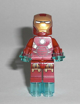 LEGO Super Heroes - Iron Man (10721) - Figur Minifig Ironman Quinjet Marvel 6869