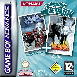 Nintendo GBA Game Boy Advance Spiel CASTLEVANIA DOUBLE PACK