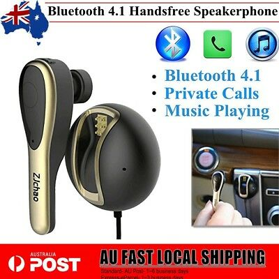 Wireless Bluetooth 4.1 Handsfree Speakerphone Speaker Car Kit For Mobile Phone