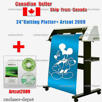 """Sales! Brand New 24"""" Redsail Cutting Plotter Vinyl Cutter with Stand RS720C"""
