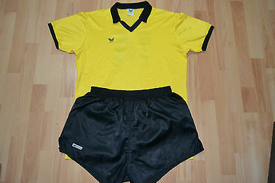 RARE 1980s VINTAGE FULL KIT ERIMA FOOTBALL SHIRT SHORT size L made in W. GERMANY