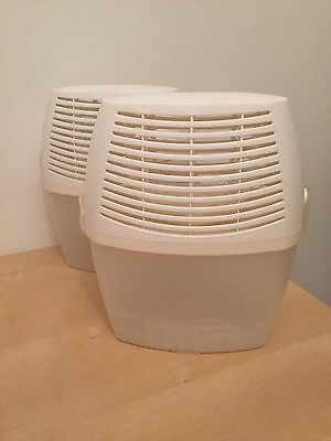Dehumidifier Used White Practical Compact Size 22x10x20 Used Two Available