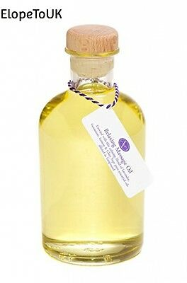 500 ml Bottle of Relaxing Massage Oil by Aura Essential Oils